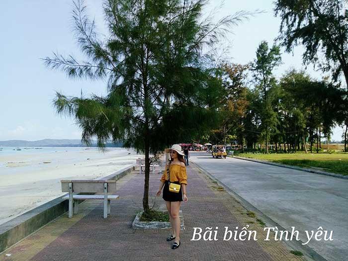 Bãi biển tình yêu - Cô Tô